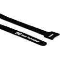 Hosa WTI-508 Cable Tie Hook & Loop 0.5 Inch x 8 Inch - 50 Piece