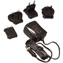 Hall Research 511-U5V2AP5L Universal Power Supply with International Plug Kit - 2.1mm Locking Output 5v @ 2A