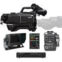 Hitachi SK-HD1800-ST2 HDTV 1080p CMOS 3Gbps Fiber Camera Package with Fiber CCU & CA-HF1300 Head Adapter - (no lens)