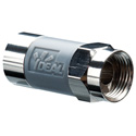 Ideal 85-168 TLC RG6 Tool-Less Compression F Connector - 50 Pack