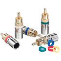 Ideal 89-570 RG59 RCA Compr Conn 35 pk