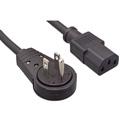 IEC-AC360-06 IEC Power Cord with 360 Degree Rotatating AC Plug - 6 Foot