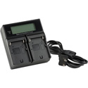 ikan ICH-KDUAL-L Dual Battery Charger for Sony L-Series Style Batteries