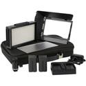 Ikan MB4-TK Mylo Mini Bi-Color 3200K-5600K Portable Field LED Light Travel Kit