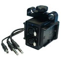 IndiPro Tools BMCPALPE6 Power Grid & XLR Audio Box for Blackmagic Cinema Camera
