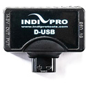IndiPro Tools DTUSB5 Male D-Tap to 5V USB & Female D-Tap Adapter