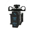 IndiPro IPGRIDPKLP6 Blackmagic Pocket Cam Dual Canon LP-E6 Battery Plate Power Pod System