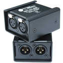 Interspace Industries SPLIXLER 2 Male to 2 Female XLR Splitter Gender Changer