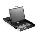 iStar WL-21716 1U Rackmount 17 Inch TFT LCD Keyboard Drawer 16prt KVM