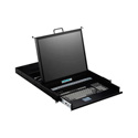 iStar WL-21916 1U Rackmount 19 Inch TFT LCD Keyboard Drawer 16prt KVM