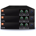 JBL CSA2120Z 2-Channel 120W 1U Commercial DriveCore Amplifier - Built-in 70/100V Fanless