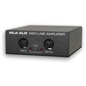 JLCooper MLA-XLR MIDI Line Amplifier Over Balanced Audio Cables