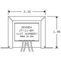 Jensen JT-11-BMCF Line Output Audio Transformer