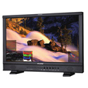 JVC DT-N24F ProHD Multiformat 24-Inch Broadcast Studio LCD Monitor with Waveform/Vectorscope & 16-Channel Audio Metering