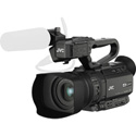 JVC GY-HM170UA 4K Camcorder with Battery and AC Power Supply