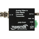 Transition Networks Analog CCTV Just Convert It Composite BNC 75-Ohm to Single Mode ST 1Km- Tx