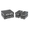 KanexPro VGAEXTX2 1x2 VGA w/Audio Splitter  / CAT5 Extender System (Trans & 2-Rec)