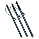 Carbon Fiber Boom Pole with Internal Coiled Cable