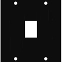 Middle Atlantic KEY 1 UCP Module for 1 Keystone Insert Bezel