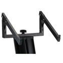 K&M 18868 Laptop Rest for Spider Pro Keyboard Stands - Black