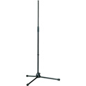 K&M 201A/2 Heavy Duty 2-Section Collapsible Mic Stand 36in. - 63in. BLACK