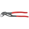 Knipex 87 01 250 Cobra Hightech Water Pump Pliers - Head Polished - Plastic Coated Handles