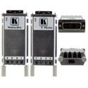 Kramer 610 Detachable DVI Optical Transmitter and Receiver Set