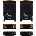 Kramer 614R-T Single-Fiber Detachable DVI Optical Transmitter & Receiver