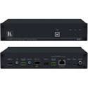 Kramer 691 4K60 4:2:0 HDMI MM/SM Fiber Optic Transmitter with USB Ethernet RS-232 IR & Stereo Audio over Ultra-Reach HDB