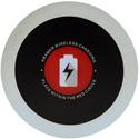 Kramer KWC-1(BC) Wireless Charging Spot - Brushed Clear