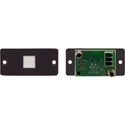 Kramer RC-11TB Wall Plate Insert with 1-Button Momentary Contact Closure Switch
