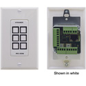 Kramer RC-306/US-D(B) 6-button Ethernet and KNET™ 1-gang Control Keypad Black