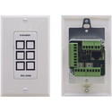 Kramer RC-306/US-D(W) 6-button Ethernet and KNET™ 1-gang Control Keypad White