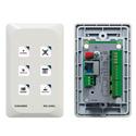 Kramer RC-43SL 6-Button Touch-Sensitive Ethernet Control Keypad (US)