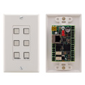 Kramer Control RC-76R 6-button Ethernet and KNETControl Keypad