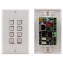 Kramer Control RC-78R 8 button Ethernet and KNET Control Keypad
