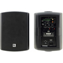 Kramer TAVOR 5-O 2x30 Watt Powered On-Wall Speaker System w/ Mounting Brackets - Black - Pair