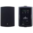 Kramer TAVOR 6-O 6.5 Inch On Wall 2 Way Powered Speakers - Pair Black