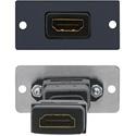 Kramer W-H(B) HDMI Wall Plate Insert - Black