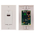 Kramer WP-572 Active Wall Plate - HDMI over Twisted Pair Receiver - Black