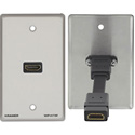 Kramer WP-H1M HDMI Passive Wall Plate - White