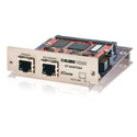 Klark Teknik KT-DANTE64 Network Module - Ethernet Compliant Audio Networking Module