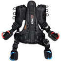 K-Tek KSHRN3S Stingray Harness with Rigid Spine Design and Inner Belt - Small (3rd Generation)
