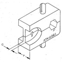 Kings KTH-2021 Crimp Die for DIN 1.0/2.3 Cable Plugs