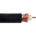 Canare L-5CFW 18 AWG 75 Ohm Digital Video Flexible Coaxial Cable - Black - 984 Feet
