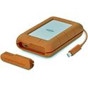 LaCie STFS4000800 4TB Rugged Portable Hard Drive - Thunderbolt USB-C