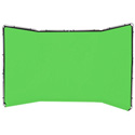 Lastolite LL LB7622 Panoramic Background 13 Foot (4M) Chromakey Green