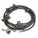 Lex 50116BA 20 Amp E-String Orchestra 12/3 STW Power Cable - NEMA 5-20 Plug - (6) NEMA 5-15 Receptacles - 23 Foot 4 Inch