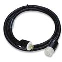 Lex PE105-25-L2130 30A 3-Phase 120/208VAC NEMA L21-30 PowerFLEX Locking Extension Cable - 25 Ft.