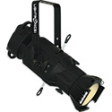 Lightronics FXLE1232W26 Warm White Dimmable LED Ellipsoidal Lighting Fixture - 26 Degree Beam Spread - Black